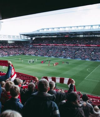 voetbalstadion